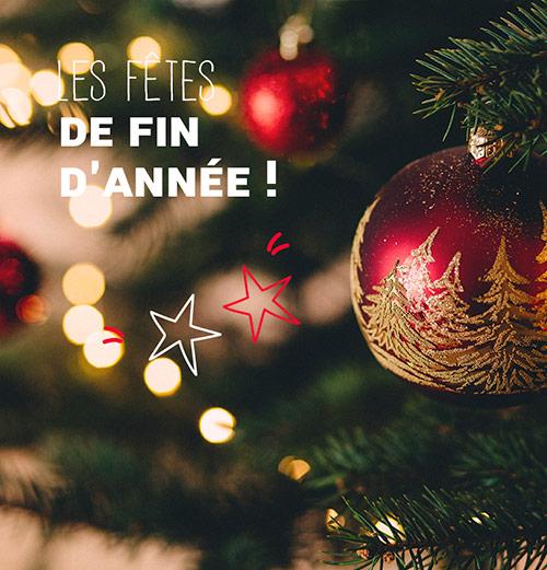 Idées cadeaux les fêtes de fin d'année !
