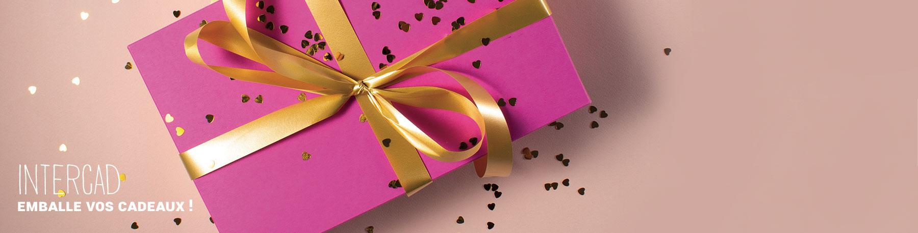 Intercad emballe tous vos cadeaux