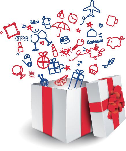 Pour tous vos cadeaux